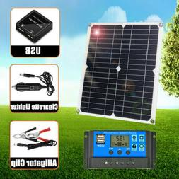 200w solar panel trickle charge battery charger