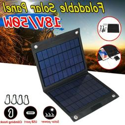50W Solar Panel 18V Trickle Charge Battery Charger Maintaine