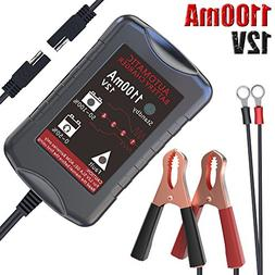 LST 12V Battery Trickle Charger Maintainer Portable Smart Fl
