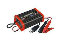 BC8S1210A 12V 10A Battery SMART Charger Maintainer comp w/ O