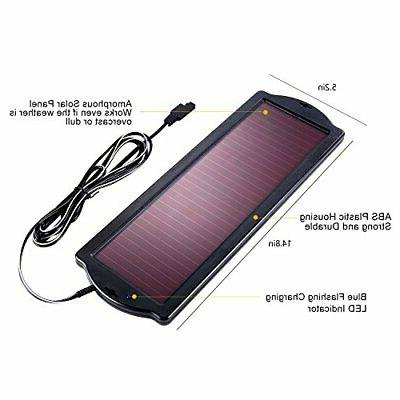 1.8W Battery Charger Maintainer, Solar Panel