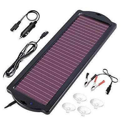 1 8w 12v solar car battery charger