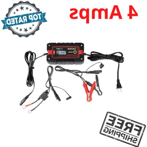 4 amps car battery charger fully automatic