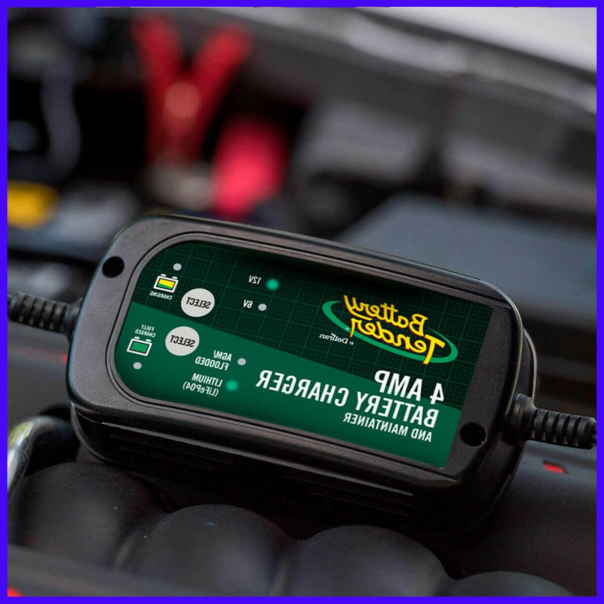 4amp smart battery charger and maintainer