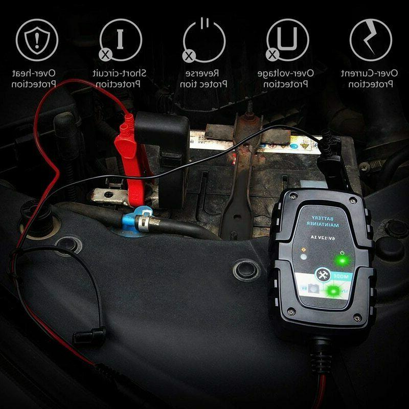 6V Battery Charger Maintainer Smart