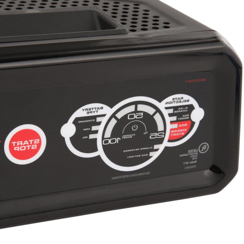 Battery 12-Volt, 80 Amp Charger/Maintainer