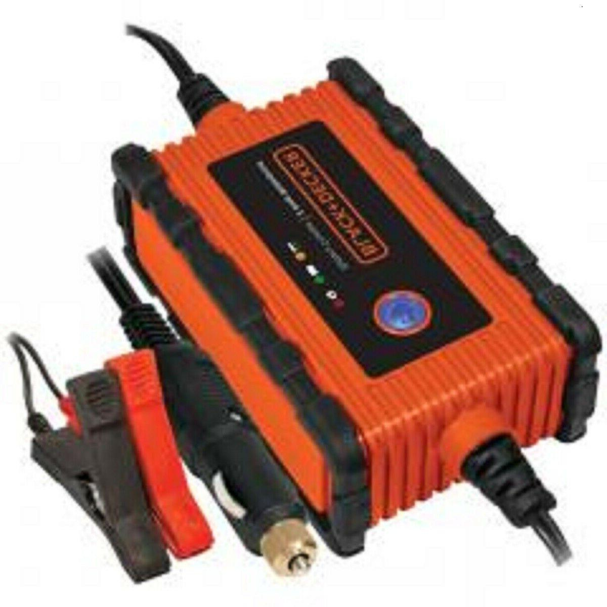 black decker bc2wbd waterproof battery charger maintainer
