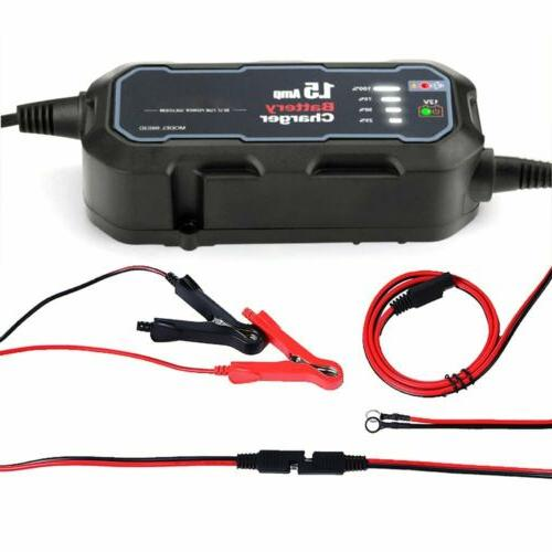 Smart Battery Charger Maintainer GEL USA