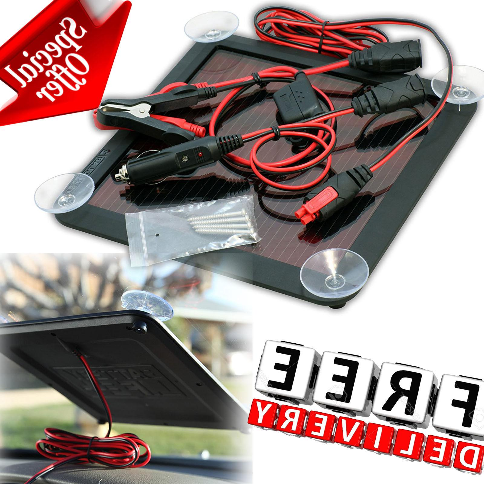 solar battery charger maintainer car 2 5w