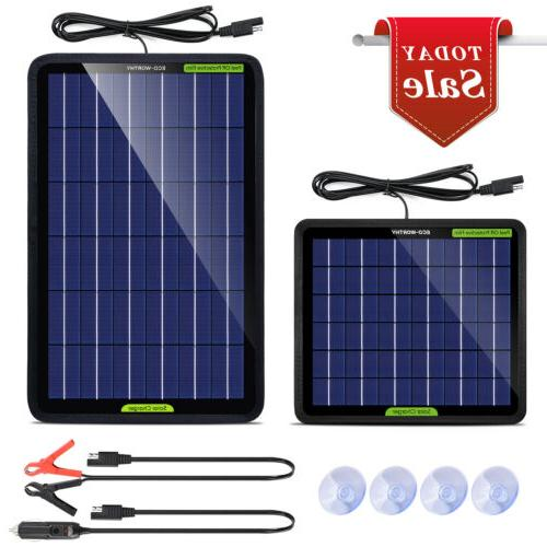 solar panel 12v 5w 10w trickle charge