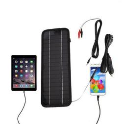 New 4.5W 12V Solar Panels Battery Maintainer Charger for Car