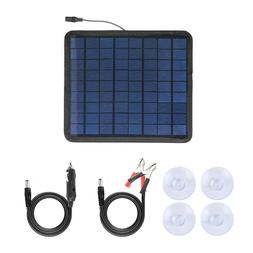 Solar Panel 12V Trickle Charge Battery Charger Kit Maintaine
