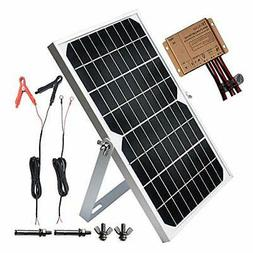TP-solar 10W 12V Solar Panel Trickle Charger Battery Maintai
