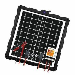POWOXI-Upgraded-20W-Solar-Battery-Charger-Maintainer, Extern